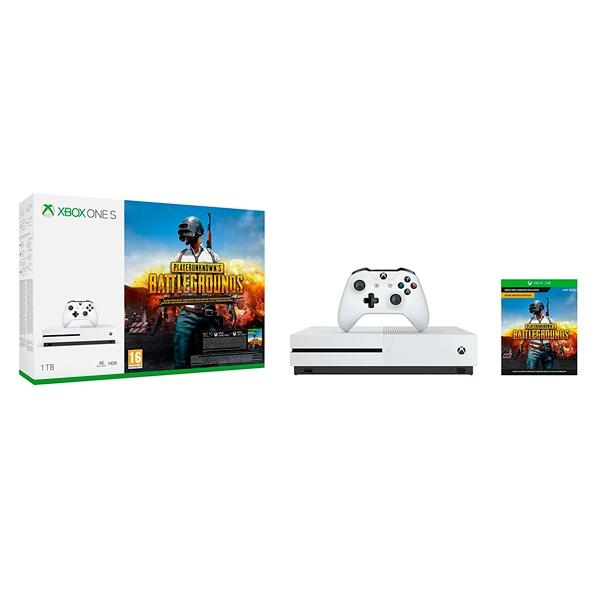 Microsoft Xbox One S 1TB  PUBG  Consola