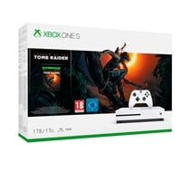 Xbox One S 1TB  Shadow of the Tomb Raider  Consola