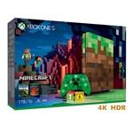 Microsoft Xbox One S 1TB Ed Limitada Minecraft