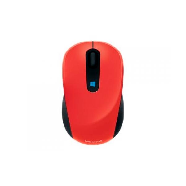 Microsoft Sculpt Mobile Mouse Flame Red  Ratón