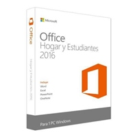 Microsoft Office Home and Student 2016 Caja New – Suite