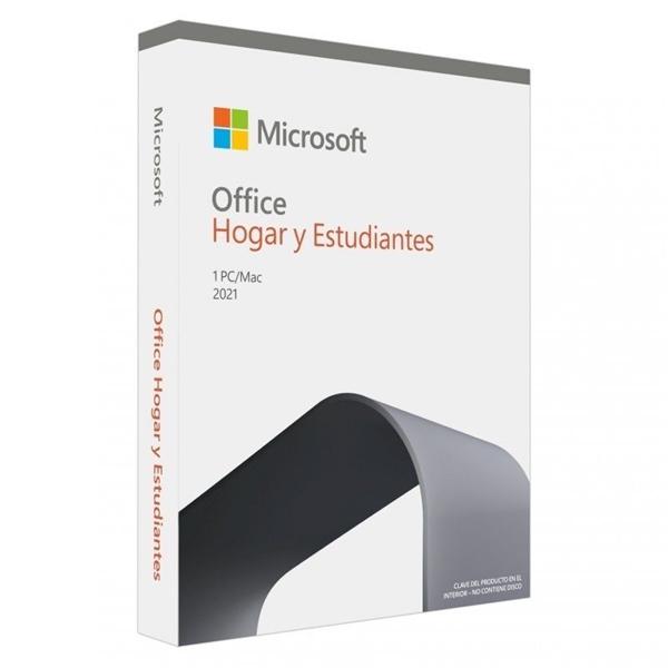 Microsoft Office Hogar y Estudiantes 2021 PC/Mac - Suite