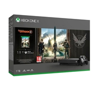 Xbox One X 1TB  Tom Clancyampaposs The Division 2  Consola