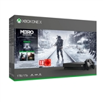 Xbox One X 1TB + Metro: Exodus Collection