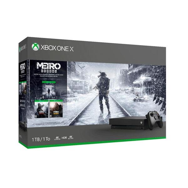 Xbox One X 1TB  Metro Saga  Consola