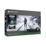 Xbox One X 1TB + Metro Saga - Consola