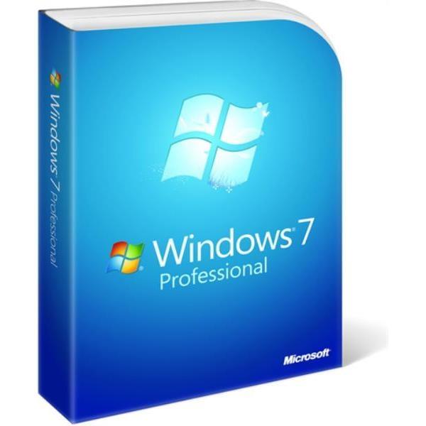 Microsoft Windows 7 Professional w/SP1 64