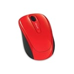 Microsoft Wireless Mobile Mouse 3500 Rojo  Ratón