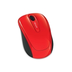 Microsoft Wireless Mobile Mouse 3500 rojo