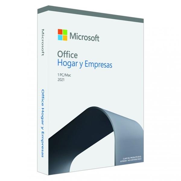 Microsoft Office Hogar y Empresa 2021 Caja - Suite