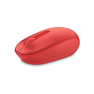 Microsoft Wireless Mobile Mouse 1850 Rojo  Ratón