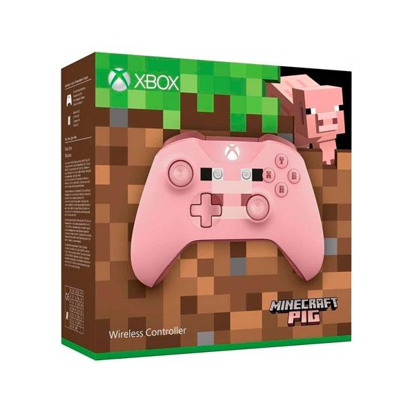 Microsoft Xbox Mando inalámbrico Minecraft Pig  Gamepad