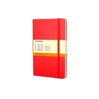 Moleskine Cuaderno Classic Rayas Tapa Dura Roja Talla P