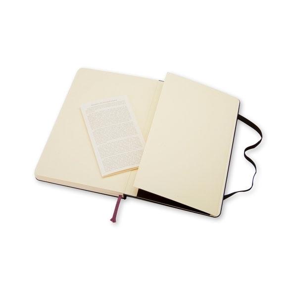 Moleskine Cuaderno Classic Liso Tapa Dura Negro Talla P