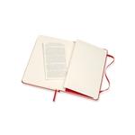 Moleskine Cuaderno Classic Liso Tapa Dura Roja Talla M
