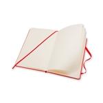 Moleskine Cuaderno Classic Liso Tapa Dura Roja Talla L