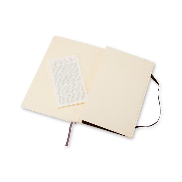 Moleskine Cuaderno Classic Liso Tapa Blanda Negro Talla P