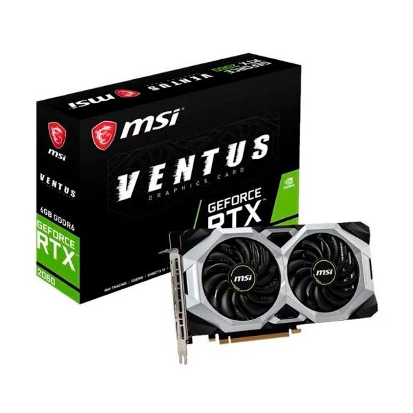 MSI Nvidia GeForce RTX 2060 Ventus 6GB  Gráfica