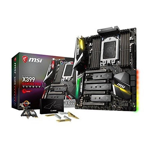 MSI X399 Gaming Pro Carbon AC – Placa Base