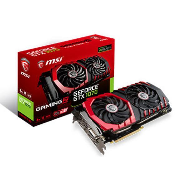 MSI Nvidia GeForce GTX1070 Gaming Z 8GB  Grfica