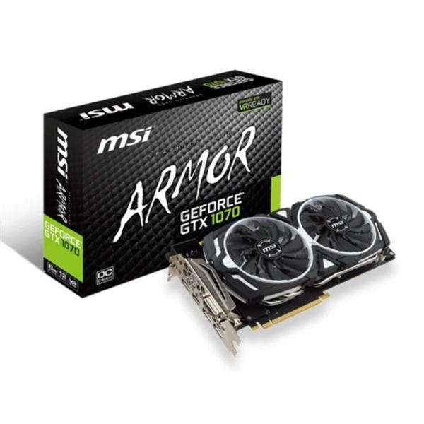 MSI Nvidia GeForce GTX 1070 Armor 8GB – Gráfica