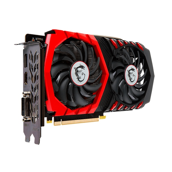 MSI Nvidia GeForce GTX 1050 Gaming X 2GB – Gráfica