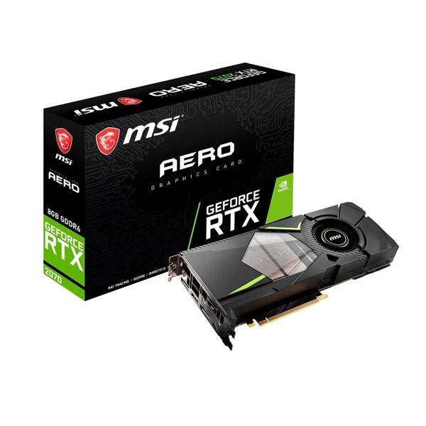 MSI Nvidia GeForce RTX 2070 Aero 8GB - Gráfica