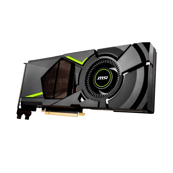 MSI Nvidia GeForce RTX 2070 Aero 8GB  Gráfica