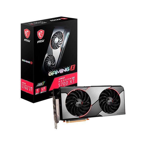 MSI Radeon RX 5700 XT Gaming X 8GB - Gráfica