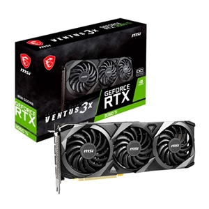 MSI GeForce RTX3060 Ti Ventus 3X OC 8GB GD6  Gráfica