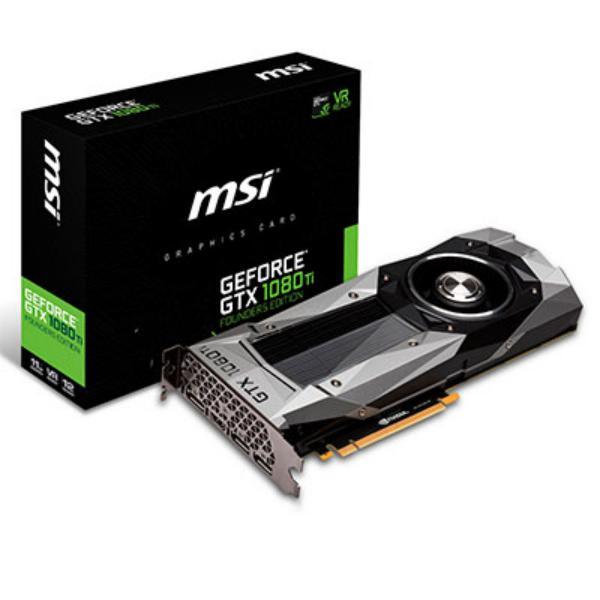 MSI NVIDIA GeForce GTX 1080 Ti F.E. 11GB – Tarjeta gráfica