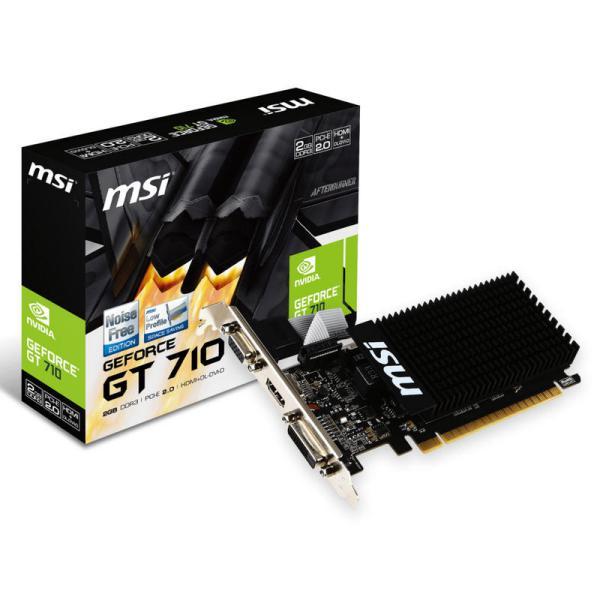 MSI Nvidia GeForce GT710 2GB - Gráfica