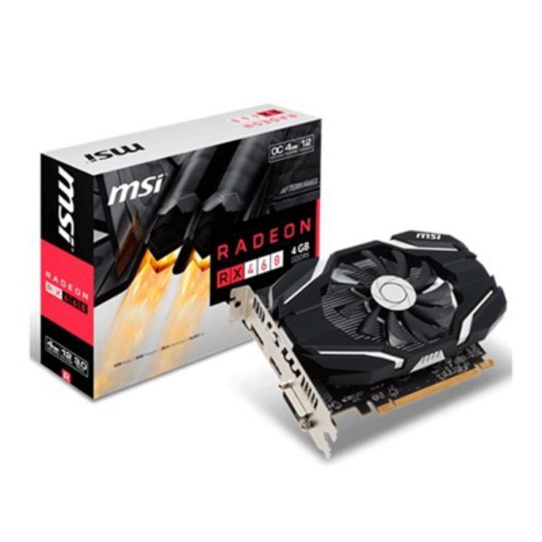 MSI AMD Radeon RX460 4GB OC – Gráfica