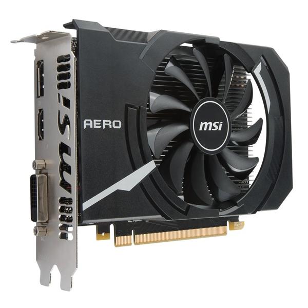 MSI Nvidia GeForce GTX 1050 AERO ITX OCV1 2GB  Gráfica