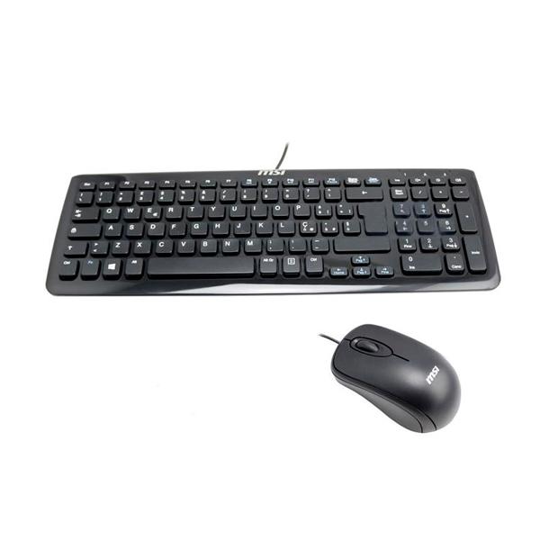 MSI Kit teclado y raton con cable - Teclado