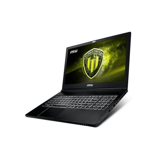 MSI WS63 8SJ061XES i7 8750 16G 2561T P3200 W10P  Portátil
