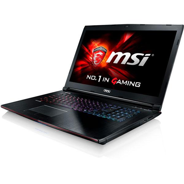 MSI GE72MVR 050XES2 i7 7700 16GB 1TB275 1070 DOS  Portátil