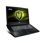 MSI WT75 8SK004ES i7 8700 32G 2561T P3200 W10P  Portátil