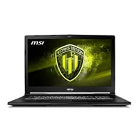 MSI WE73 080XES i7 8750H 16GB 1TB256 P2000 DOS  Portátil