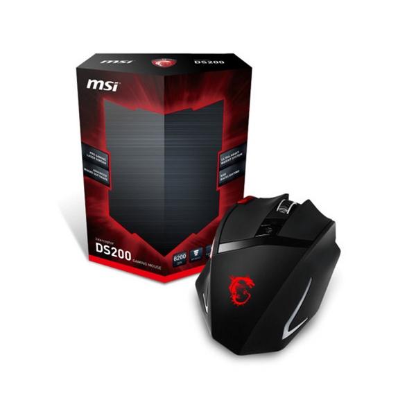 MSI DS200 8200 dpi Negro – Ratón