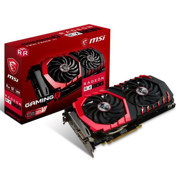MSI AMD Radeon RX580 Gaming X 4GB  Grfica