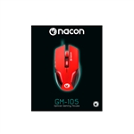 Nacon GM-105 rojo - Ratón