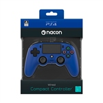 Nacon PS4 oficial azul wired – Gamepad