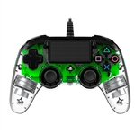 Nacon PS4 oficial transparente LED verde  wired  Gamepad