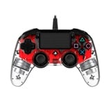 Nacon PS4 oficial transparente LED rojo  wired - Gamepad