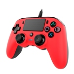 Nacon PS4 oficial rojo wired  Gamepad