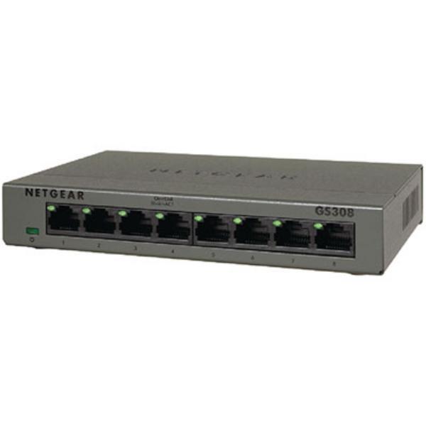 Netgear GS308 8 Puertos Gigabit - Switch