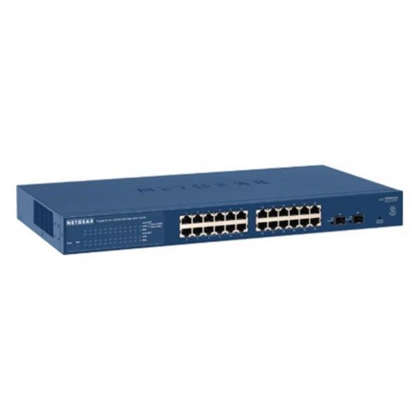 Netgear GS724T ProSafe 24 Puertos Gigabit  2 SFP  Switch  Reacondicionado