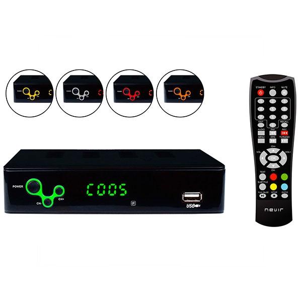Nevir NVR-2595 TDT HD de sobremesa – Sintonizador