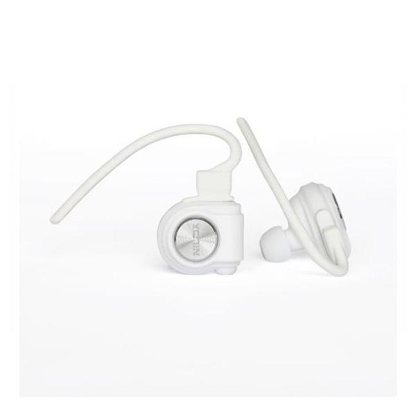 Nilox Drops Blancos Bluetooth 4.0 – Auriculares Inalámbricos